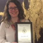 Lisa Hensell is honored to have received the RAA Educational Award in 2018