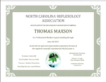 Professional Member of North Carolina Reflexology Association